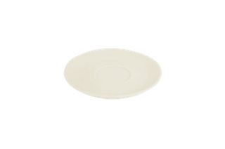 180ML/220ML CAPPUCCINO SAUCER BARISTA SET OF 6 WHITE