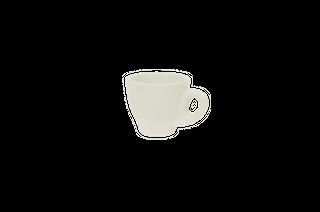 90ML ESPRESSO CUP ITALIAN SET OF 6 WHITE