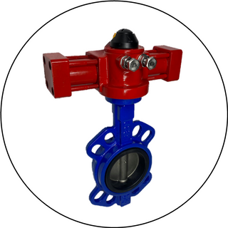 HYDRAULIC ROTARY (BUTTERFLY) ACTUATORS