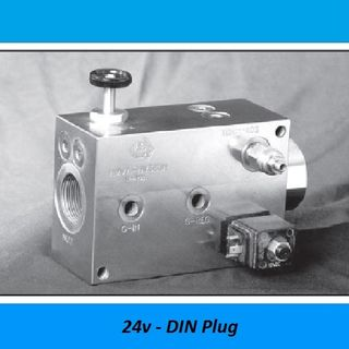 HAMMER VALVES, 380 LITER - 350 BAR, STEEL - 350 BAR, Voltage: 24V DEUTCH Plug