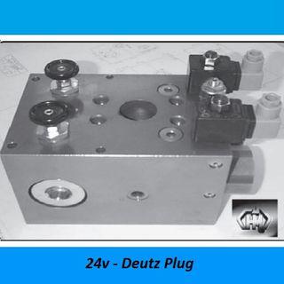 HAMMER VALVES, 760 LITER - 350 BAR, STEEL - 350 BAR, Voltage: 24V DIN Plug
