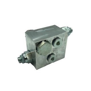 "DUAL CYLINDER COUNTERBALANCE VALVE STEEL 3/8"" BSPP"
