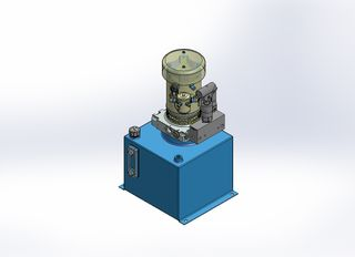 12v DC FAN ASSISTED 7L/min 10-170bar 12.0L SQUARE tank / vertical mount/ hand pump
