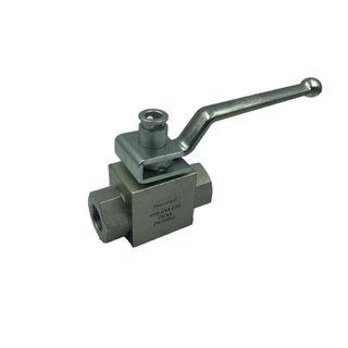 "3/4"" KHB Series 2way ball valve with Locking Device (P13)"