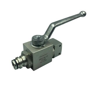 BBKH-20-FM Ball Valve With Quick Connections (BBKH Series)