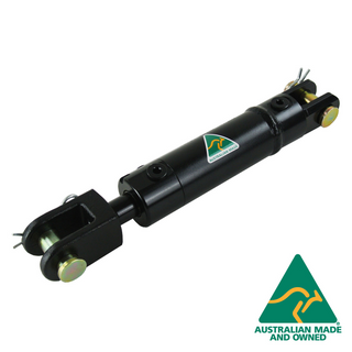 "AG CYLINDER 1.5"" BORE, 18"" STROKE, DUAL PORTS"