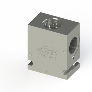 """STEEL HOUSING TO SUIT SUN HYDRAULICS CAVITY T-16A WITH 1"""" BSP PORTS"""