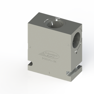 "STEEL HOUSING TO SUIT COMMON C-16-3 WITH 1"" BSP PORTS"