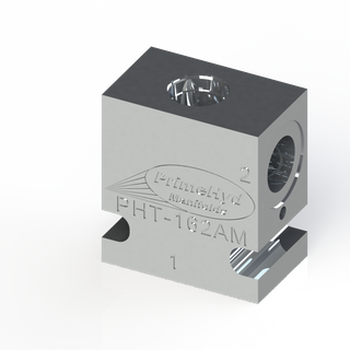 """ALUMINIUM HOUSING TO SUIT SUN HYDRAULICS CAVITY T-162A WITH 3/8"""" BSP PORTS"""
