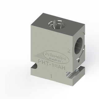 """STEEL HOUSING TO SUIT SUN HYDRAULICS CAVITY T-10A WITH 1/2"""" BSP PORTS"""