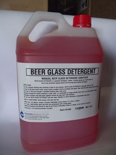 BEER GLASS DETERGENT