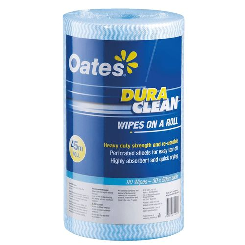 DURACLEAN WIPES ON ROLL