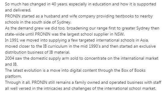 40 year anniversary - blurb