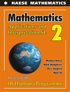 Mathematics: Applications and Interpretation SL