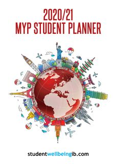 2020/21 Student Diary / Planner - MYP