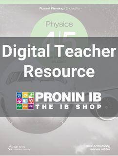 Physics 4/5 for the MYP Teacher Resource 2Ed