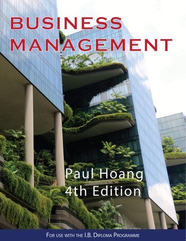 Business Management Textbook  4Ed
