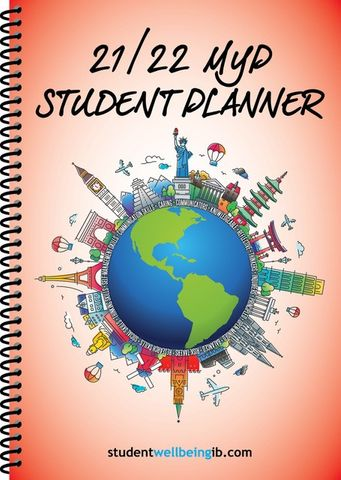 2021/22 Student Diary / Planner - MYP