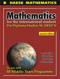 Mathematics for the International Student 10 MYP5S