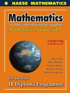 Mathematical Studies SL 3Ed