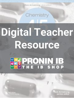 Chemistry 4/5 for the MYP Teacher resource 2Ed