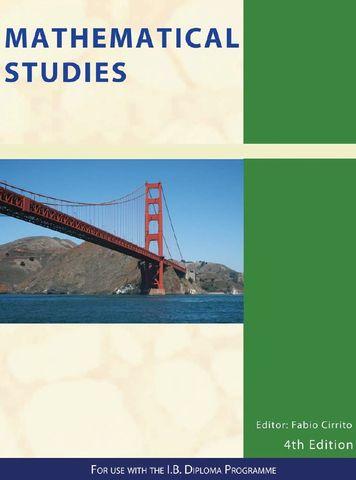 Mathematical Studies SL 4Ed