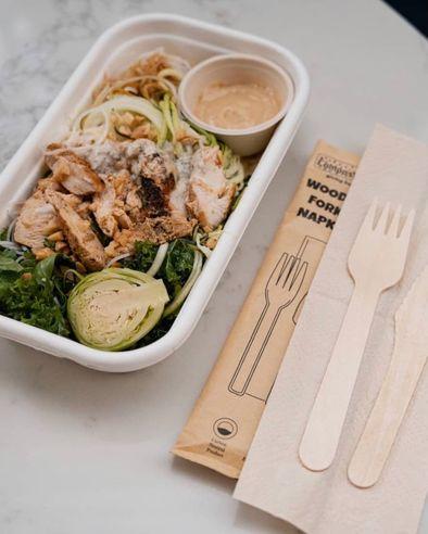 BioCane Lunch + Cutlery