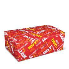 Large Snack Box Printed - Hot Food Fast