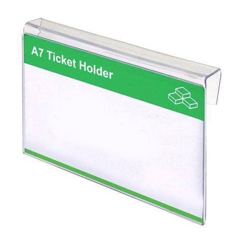 A7 Ticket Holder (Landscape) 105 x 83 x 15mm