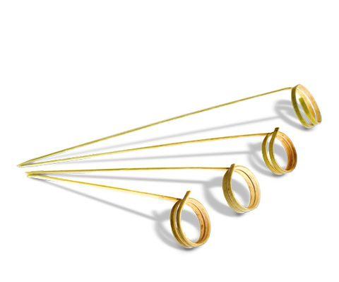 Bamboo Ring Skewer 120Mm