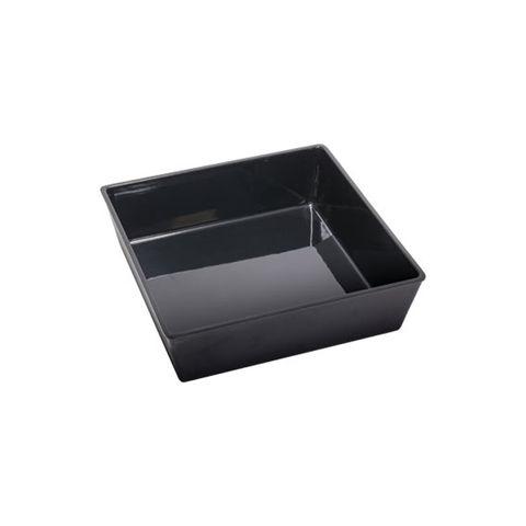 Melamine Deli Bowl - Black 230 x 230 x 65mm