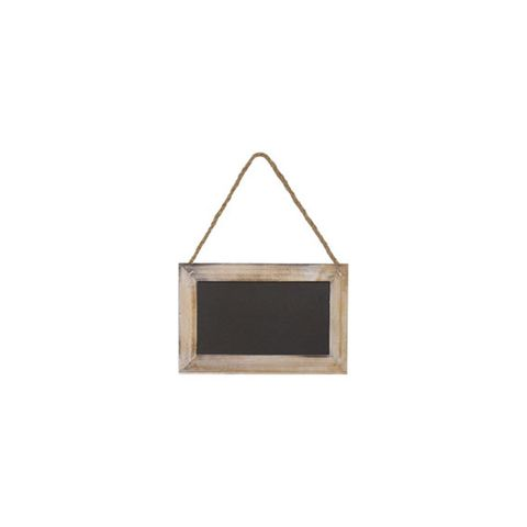 Small Pine Framed Hanging Chalkboard 150 ? 230 mm