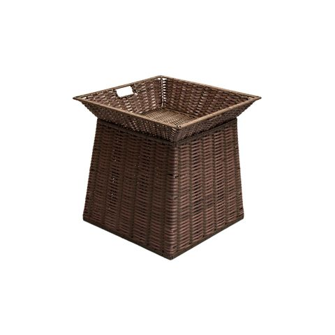 Small Square Display Basket Chocolate 450 W x 450 D x 100 H mm
