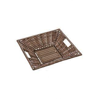 Small Deep Square Display Basket Choclate 600 x 600 x 100mm