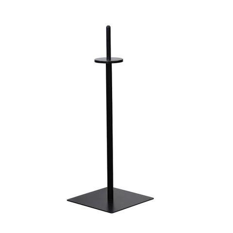Black floor Standing Bag Dispenser 1050mm High