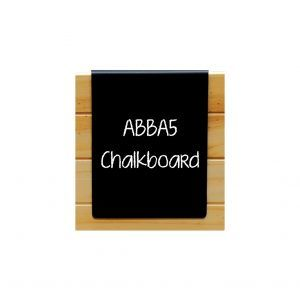 Black A5 Rearside Hanging Board 157 x 215 x 15mm