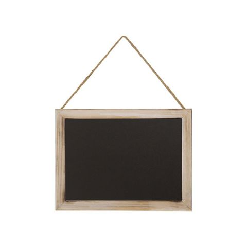 Medium Pine Framed Hanging Chalkboard 400 ? 300 mm