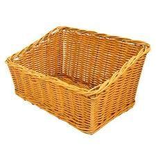 Polywicker Slant Basket 480 × 340 × 165mm Natural