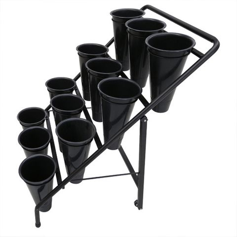 Flower Trolley With 12 Pots 750 x 800 x 1230mm