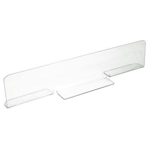 Clear Split Foot Divider 600 × 100mm