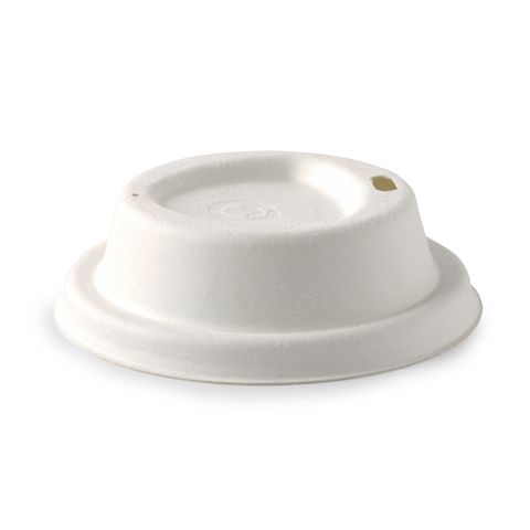 80mm Small Sugarcane Coffee Cup Lids