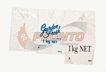 Plastic Bag 1 Kg Print (Black)