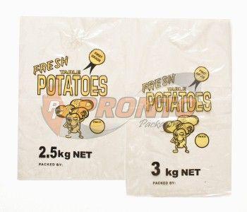 Potato Bag 3Kg - Yellow