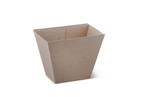 Brown Kraft Cardboard Chip Cup 70 x 45  x 90 Mm