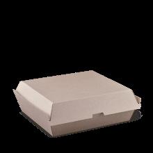 Brown Kraft Dinner Box Clam