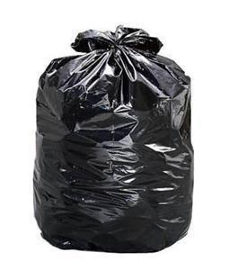 240Lt Heavy Duty Garbage Bags Black