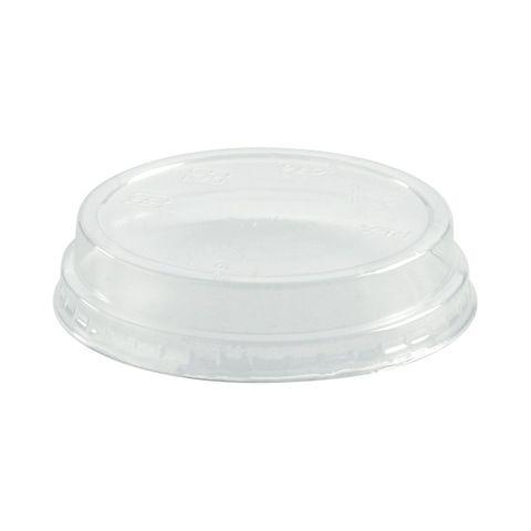 76Mm Dia Pla Bioplastic Clear No Hole