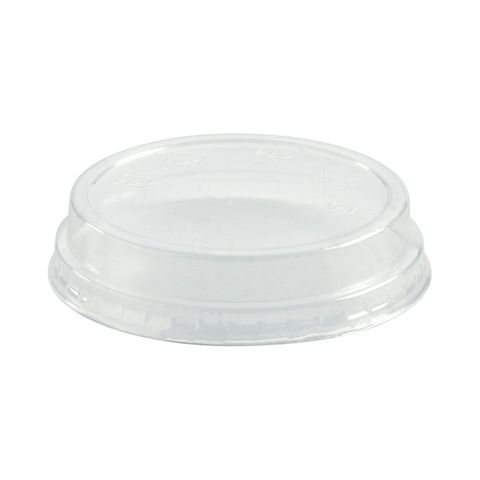 76Mm Dia Pla Bioplastic Clear No Hole