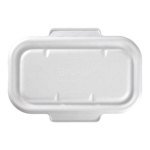 White Biocane Lunch Box Lid