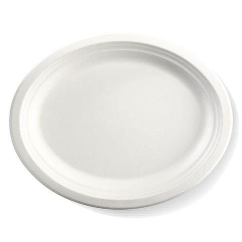 "BioCane 12.5"" X 10"" Oval Plate - Carton"